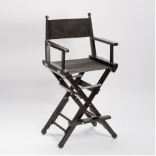 Amabilia - Professional Chair Wood Black Double Height